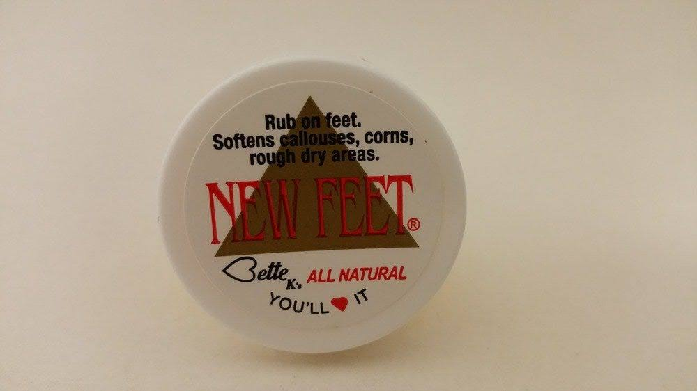 Bette K's New Feet Cream - Trail Size, 0.75oz