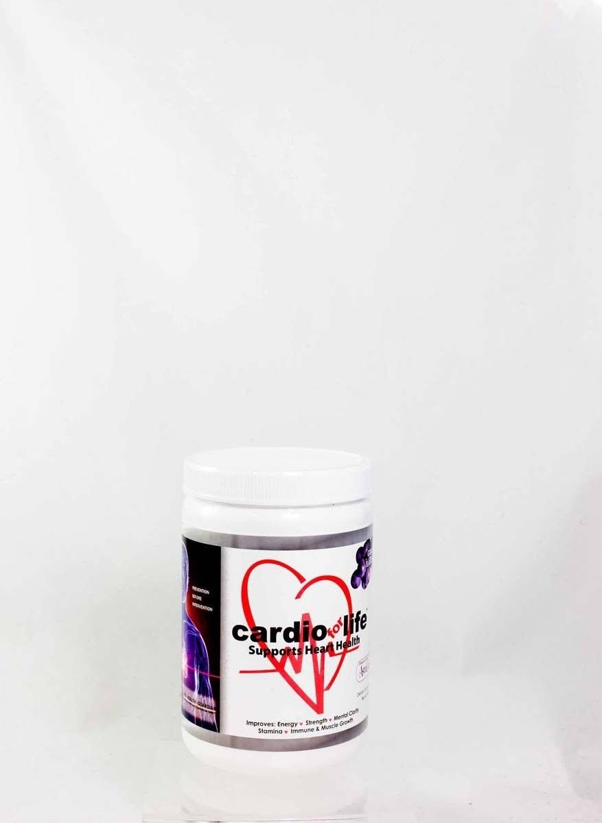CardioForLife Powder Supplement - 16oz, Grape