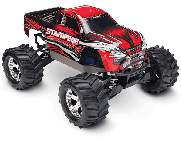 Traxxas Stampede 670541 4x4 4wd Monster Truck - Red, 1/10 Scale