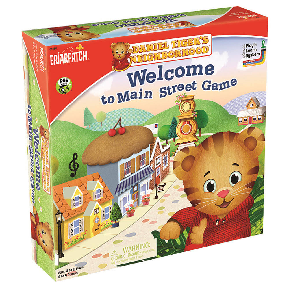Daniel Tigers Neighborhood: Welcome To Main Street Game