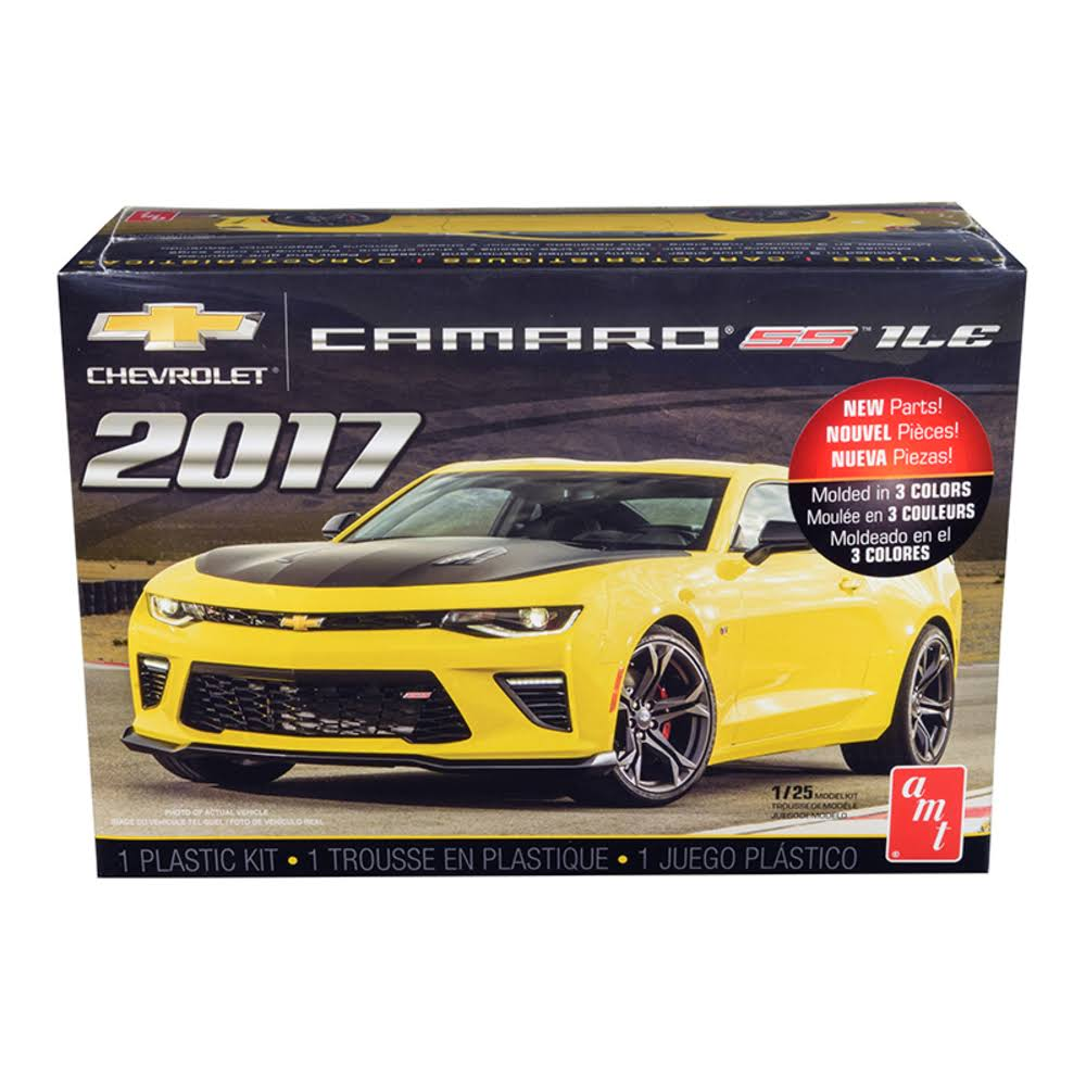 AMT Amtamt1074m Scale Vehicle Car Model Toy Kit - Chevy Camaro SS 1LE