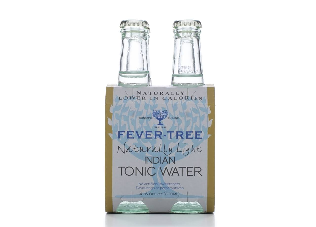 Fever-Tree Naturally Light Tonic Water - 4x200ml