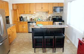 Faus Flooring Home Depot by 10 Diy Kitchen Cabinet Makeovers Before U0026 After Photos That