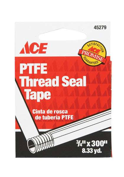 "Ace PFTE Thread Seal Tape, 3/4"" x 300"""