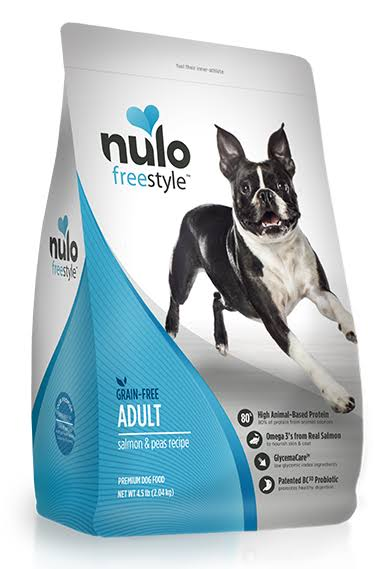 Nulo FreeStyle Grain Free Salmon and Peas Adult Dry Dog Food - 24lb
