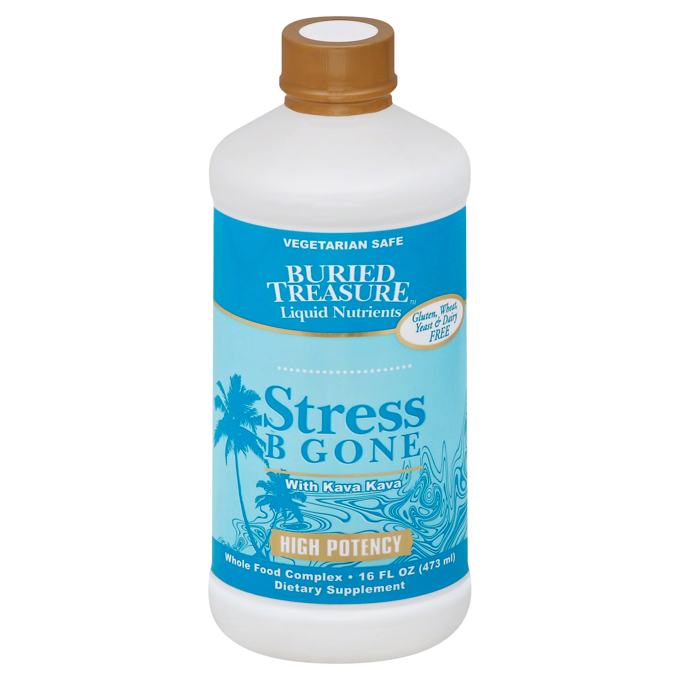 Buried Treasure Stress B Gone Liquid Supplement - 16oz