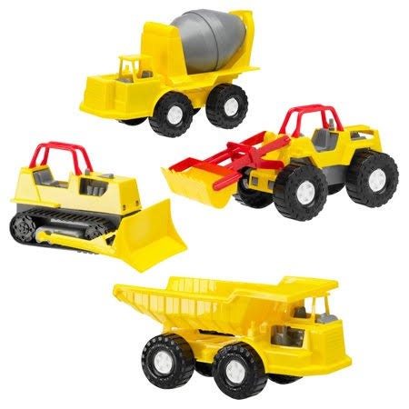 American Plastic Construction Vehicles Toys