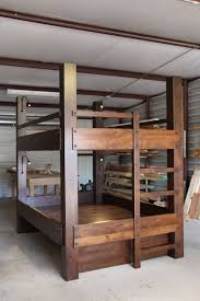 Wood Bunk Beds Plans by Best 25 Queen Size Bunk Beds Ideas On Pinterest Full Beds Full