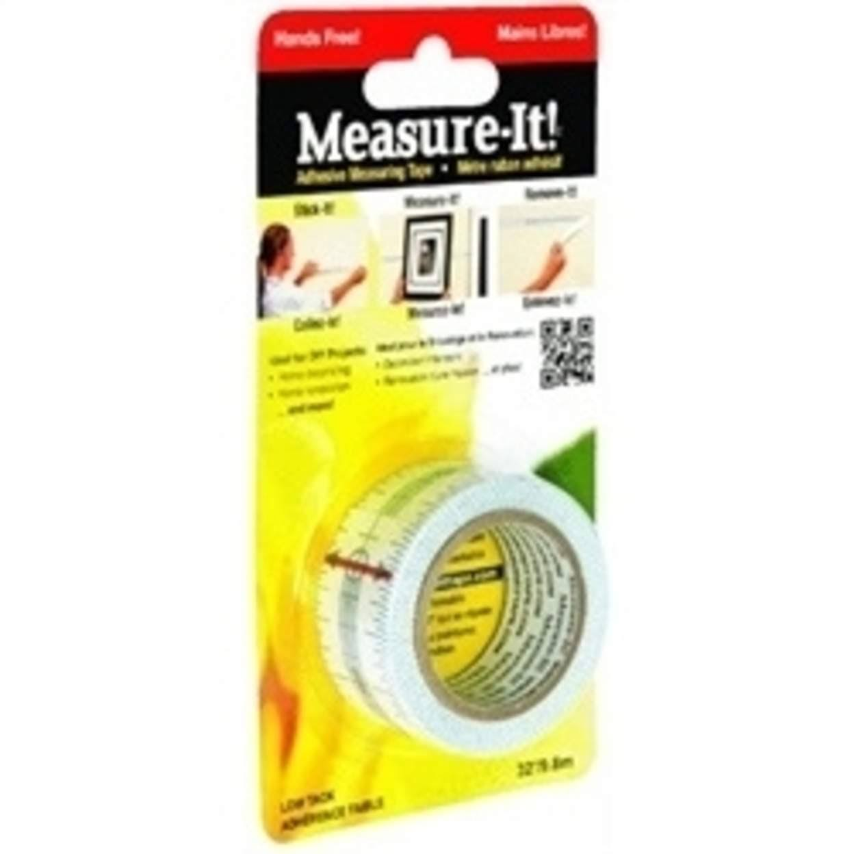 Measure-It Adhesive Measuring Tape - 32'