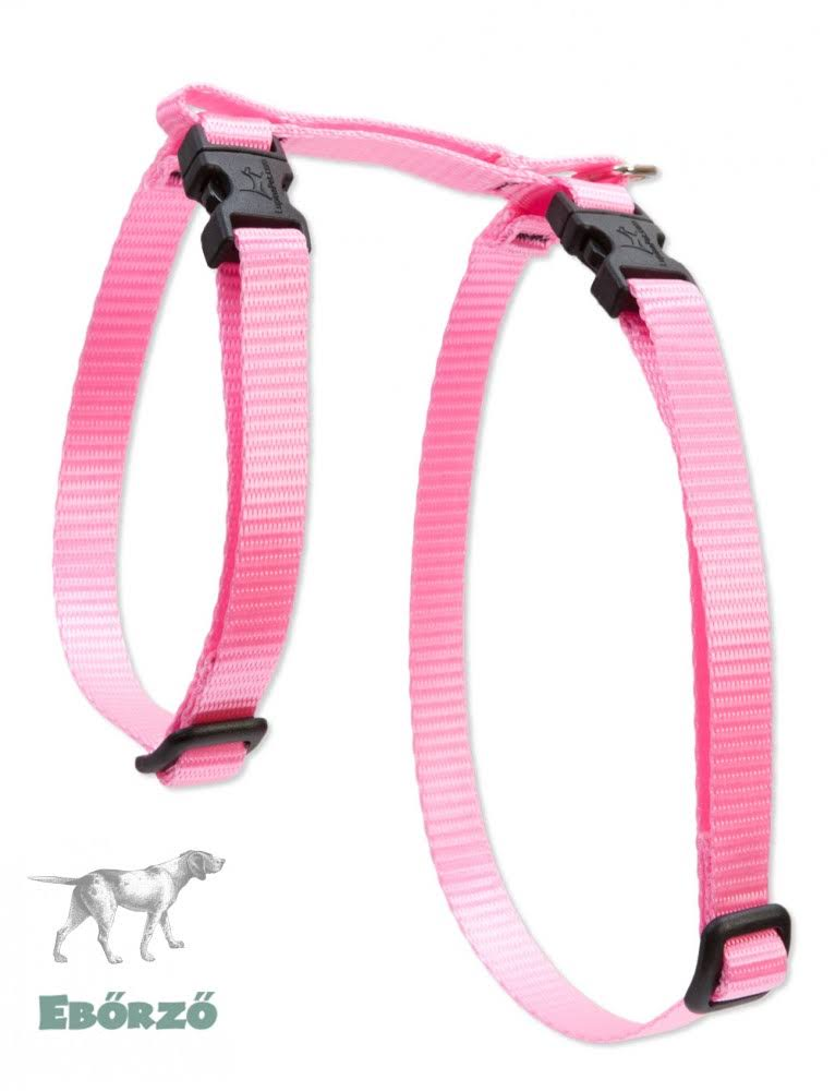 LupinePet H-Style Small Pet Harness 9 to 14-Inch Pink