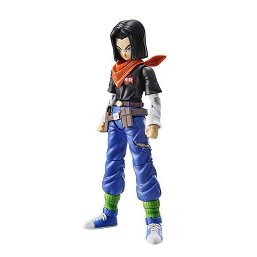 Bandai Figure-rise Standard Dragon Ball Plastic Model Kit - Android 17