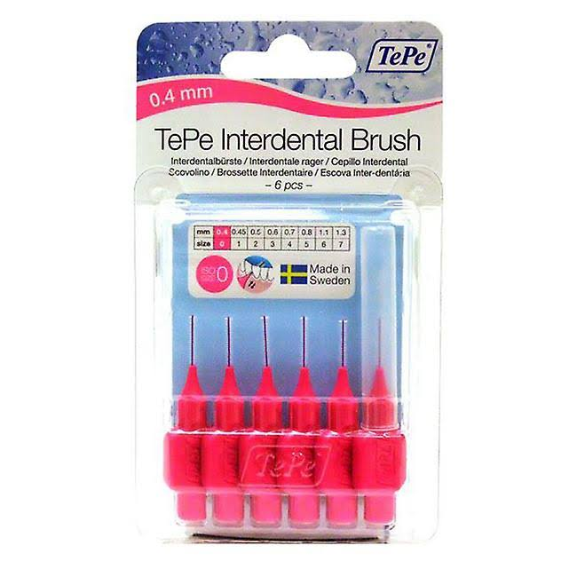 TePe Interdental Brush - Pink, 0.4mm
