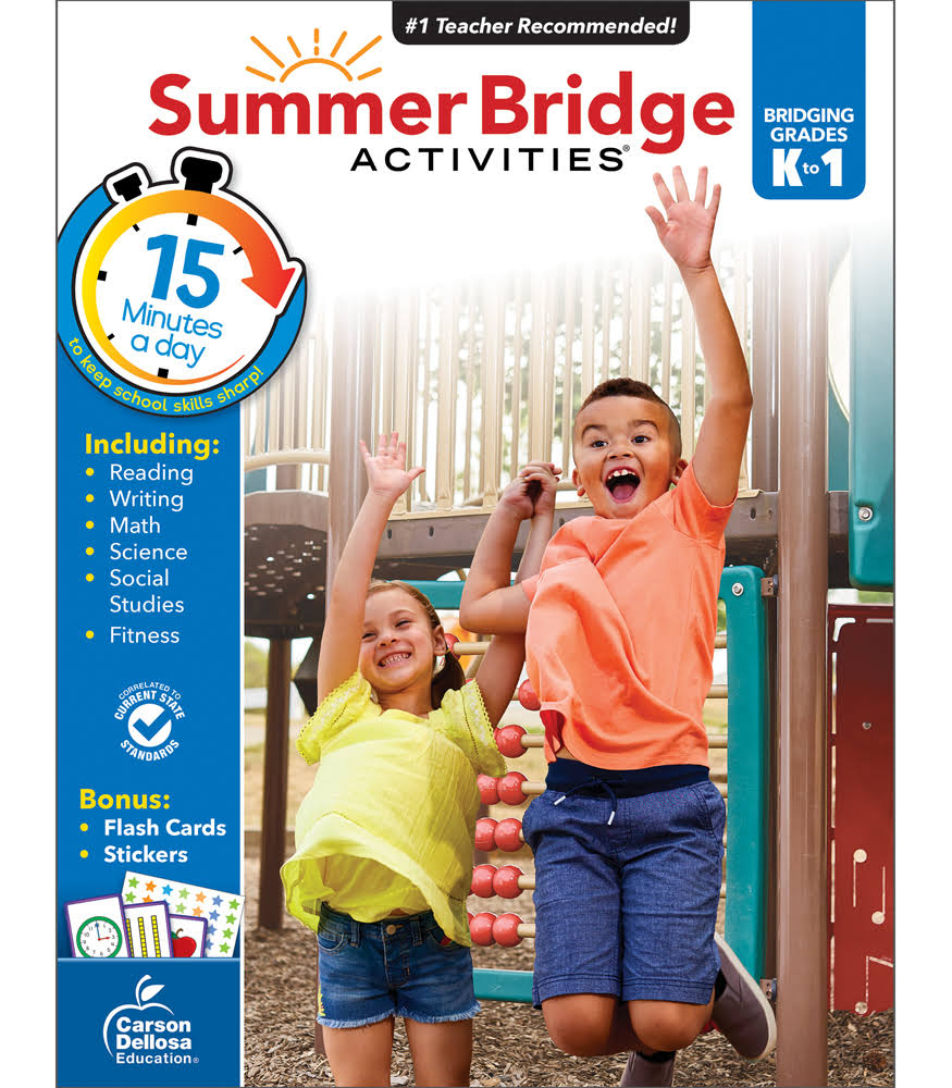 Summer Bridge Activities: Grades K 1 - Summer Bridge Activities