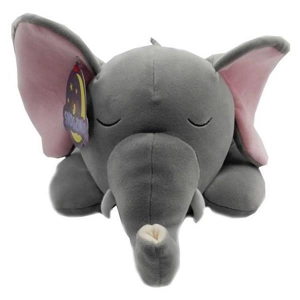 Go! Games Snoozimals 20in Elephant Plush, 201900000665