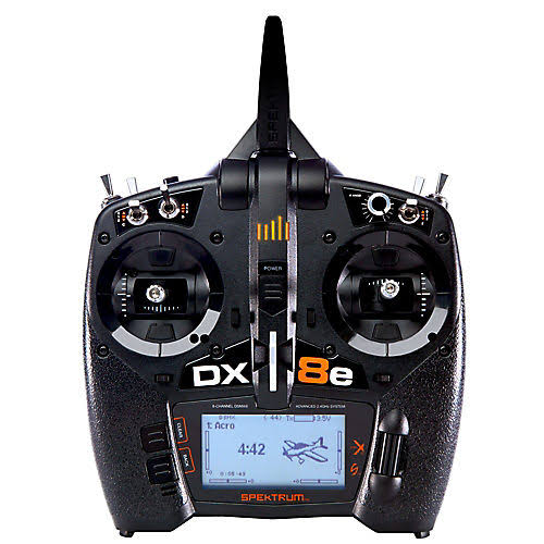 Spektrum SPMR8100 DX8e 8-Channel DSMX Transmitter Only