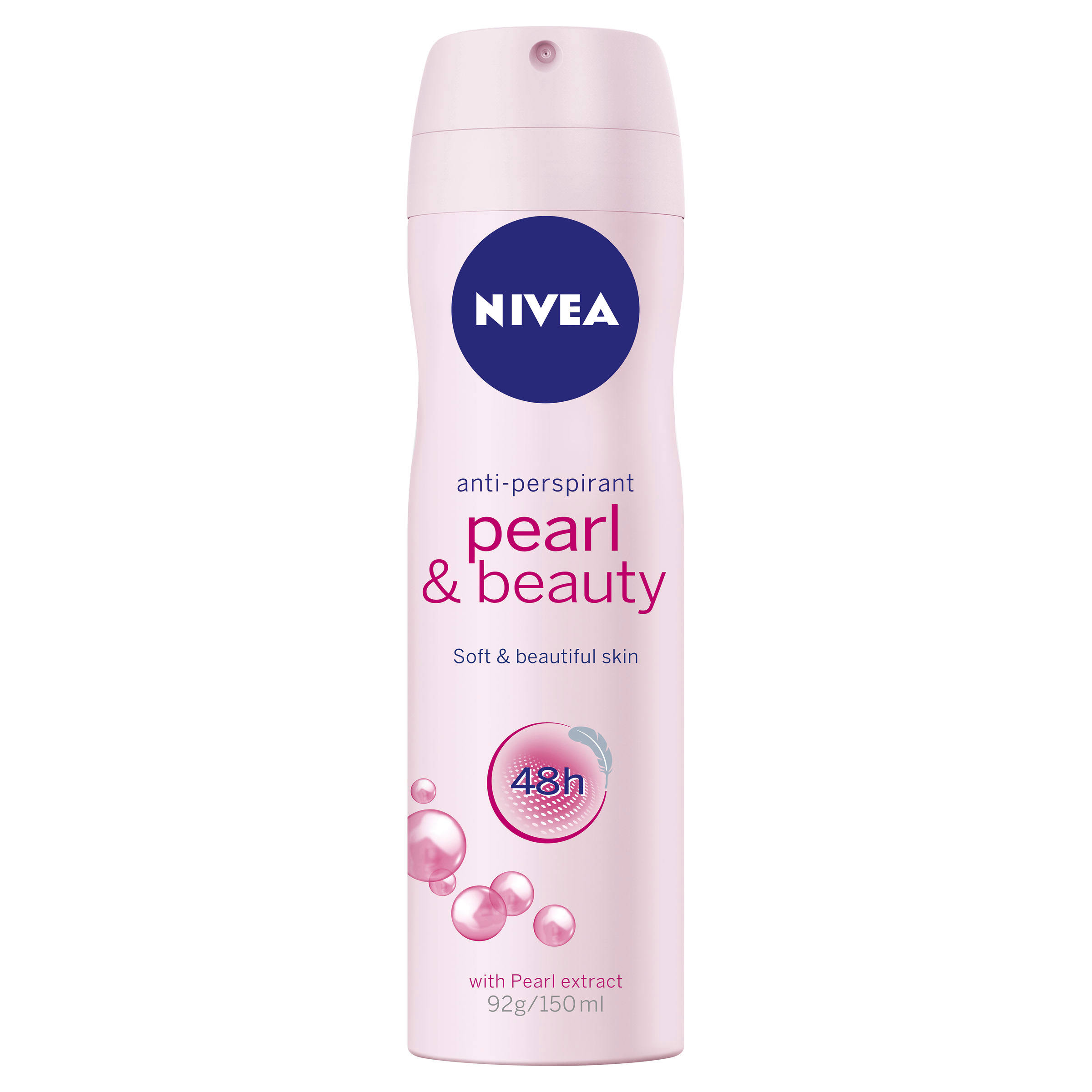 Nivea Anti Perspirant Deodorant Spray - Pearl & Beauty, 150ml