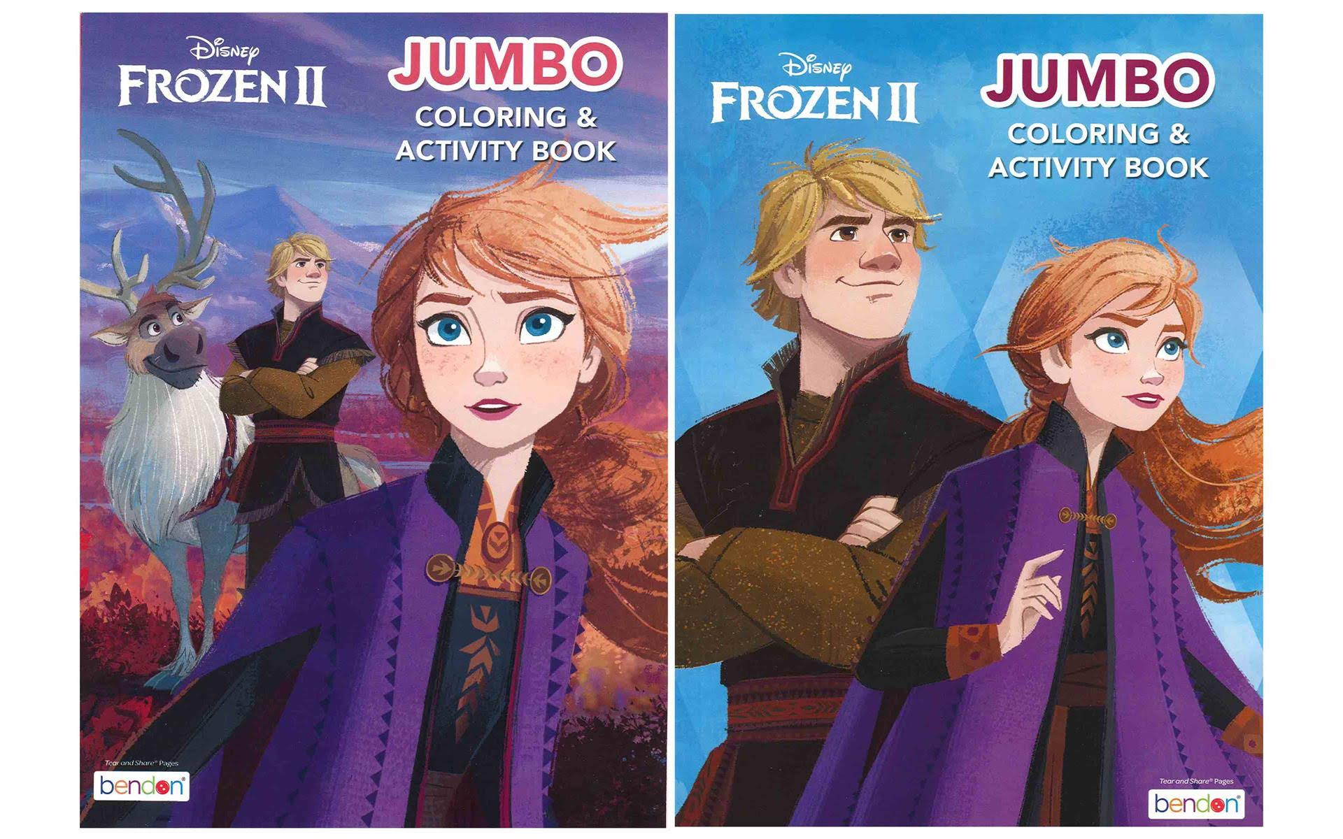 Amscan Coloring and Activity Book Birthday Party Supplies - Frozen 2