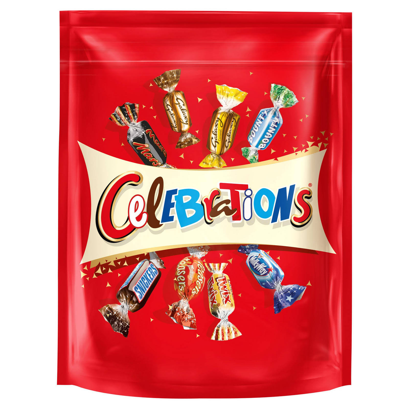 Celebrations Chocolate Sharing Pouch, 400 G
