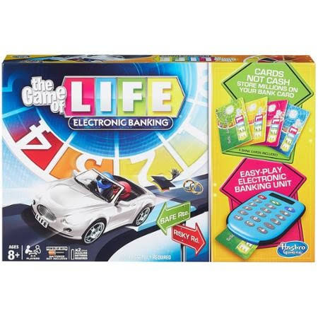 Hasbro Gaming The Game of Life Electronic Banking Game