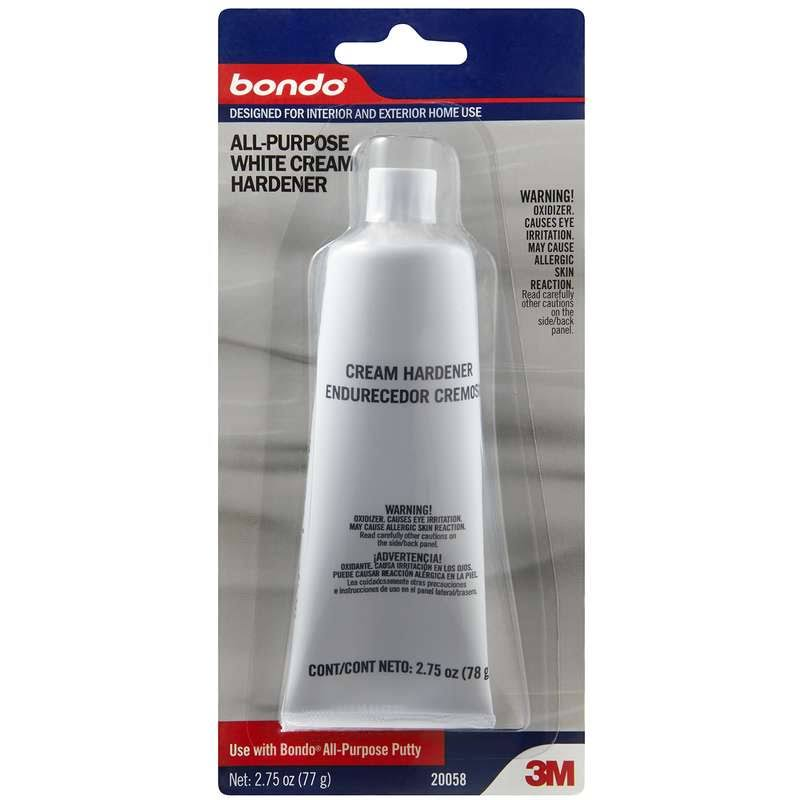 3M Bondo All-Purpose White Cream Hardener - 2.75oz