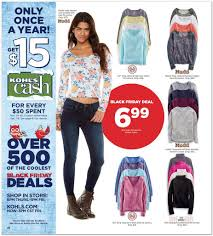 Kohls Christmas Trees Black Friday by View Kohl U0027s Black Friday Ad For 2014 Deals Kick Off At 6 P M On