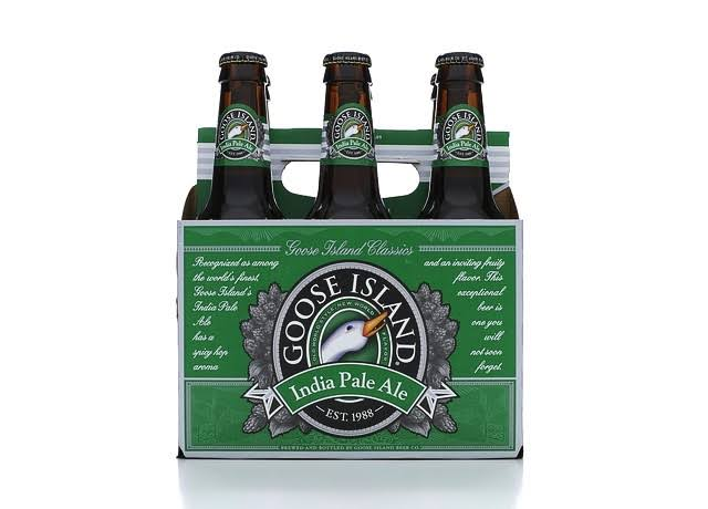 Goose Island India Pale Ale Beer - 12 fl oz, 6 pack