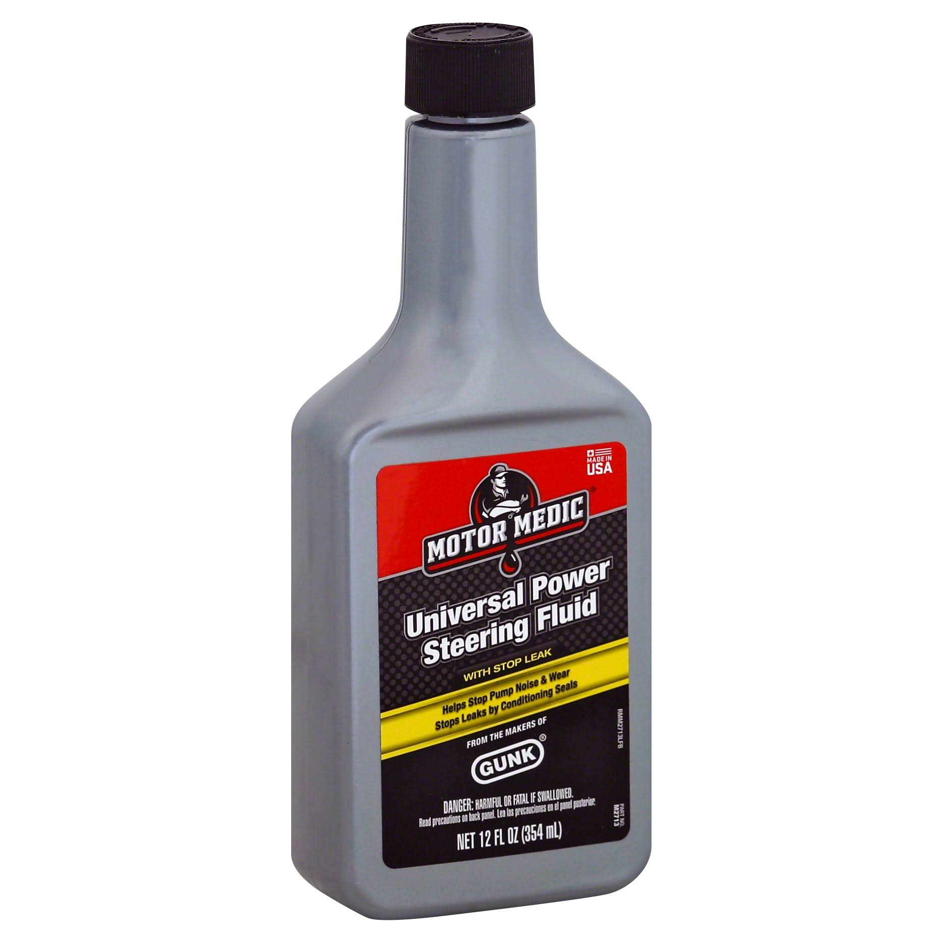 Gunk M2713 Power Steering Fluid