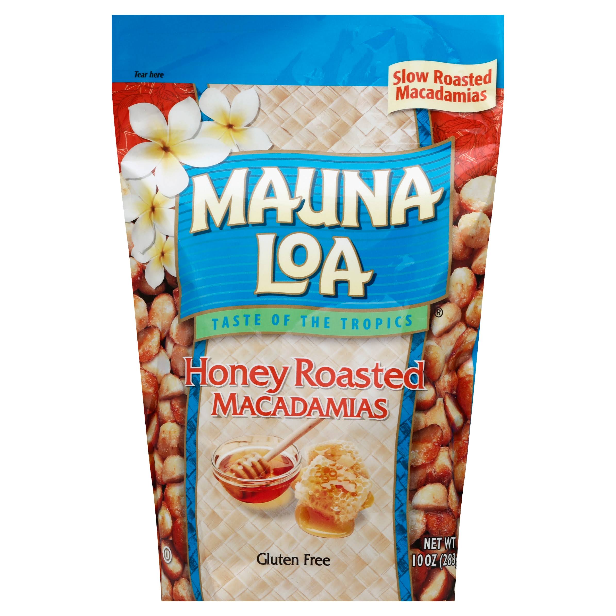 Hawaii Mauna Loa Honey Roasted Macadamia Nuts - 11oz