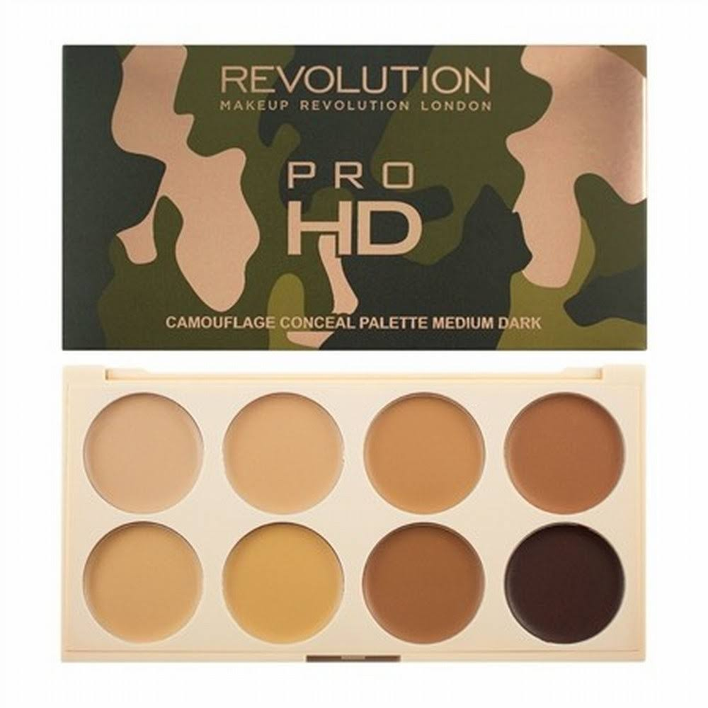 Revolution Makeup Ultra Pro HD Correcting Palette - Medium Dark