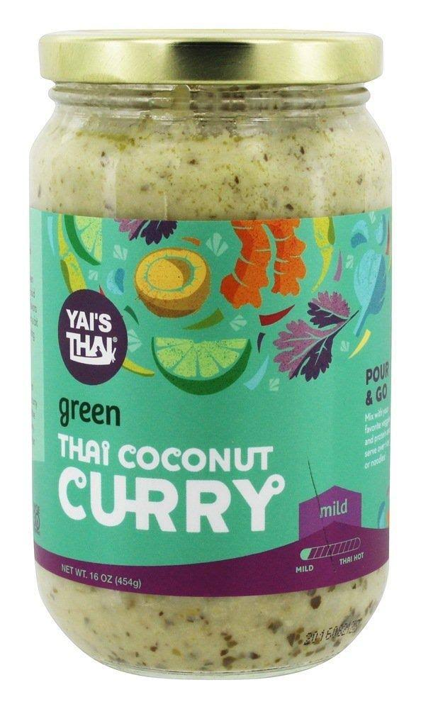Yais Thai: Thai Coconut Curry Green, 16 oz