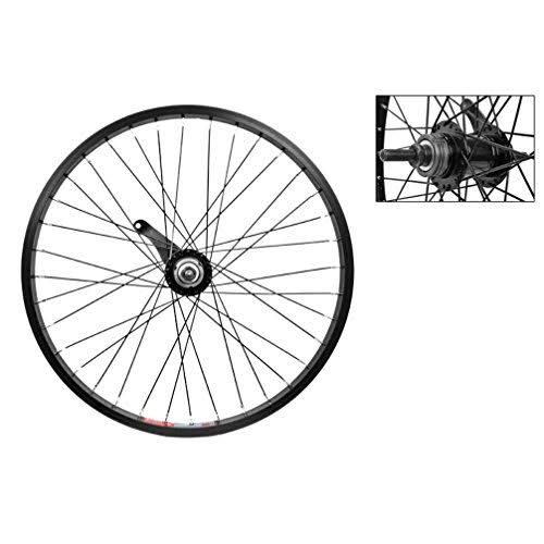 Wheel Master Bolt-On Rear Bicycle Wheel - Black, 20in x 1.75in