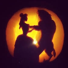 Wolf Pumpkin Stencils Free Printable by Princess Belle Beauty And The Beast Pumpkin Carving Silhouette
