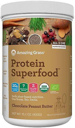 Amazing Grass Protein Superfood Supplement - Chocolate Peanut Butter, 430g