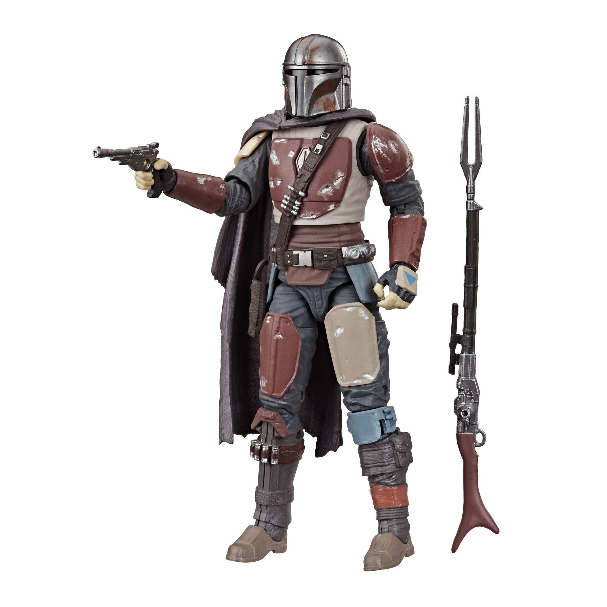 Hasbro Star Wars The Black Series The Mandalorian Action Figure - 6""