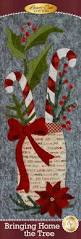 Pea Ridge Christmas Tree Farm by Bringing Home The Tree Quilt Kit In Cotton Pre Fused Laser Cut
