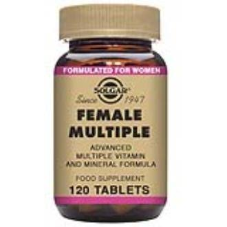 Solgar, Female Multiple, 120 Tablets