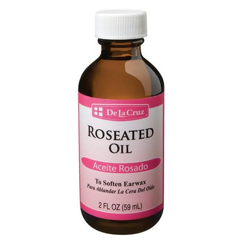De La Cruz Roseated Oil Ear Wax Removal Aid - 2oz