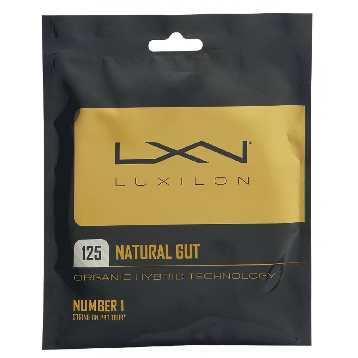 Luxilon Natural Gut Tennis String Set - 1.25mm