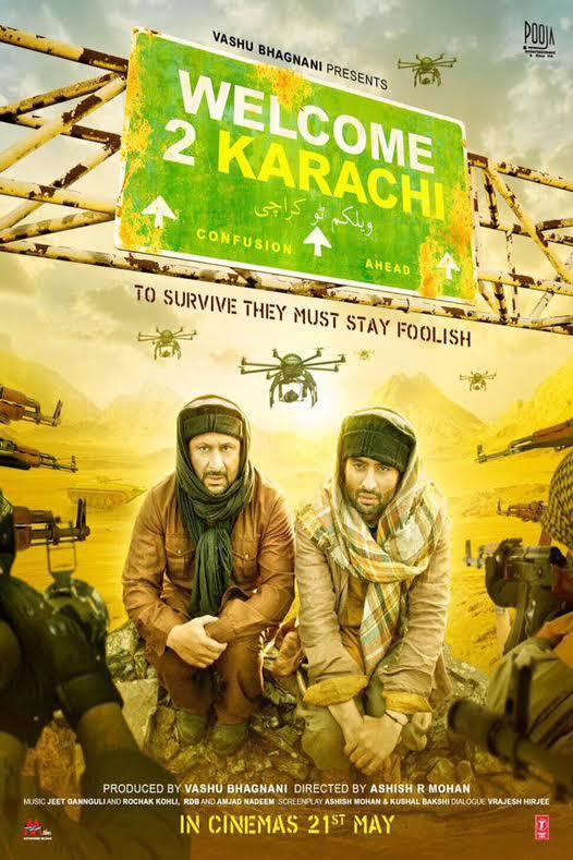 Welcome 2 Karachi 2015 Hindi Movie Download Watch Online HD DVDRip