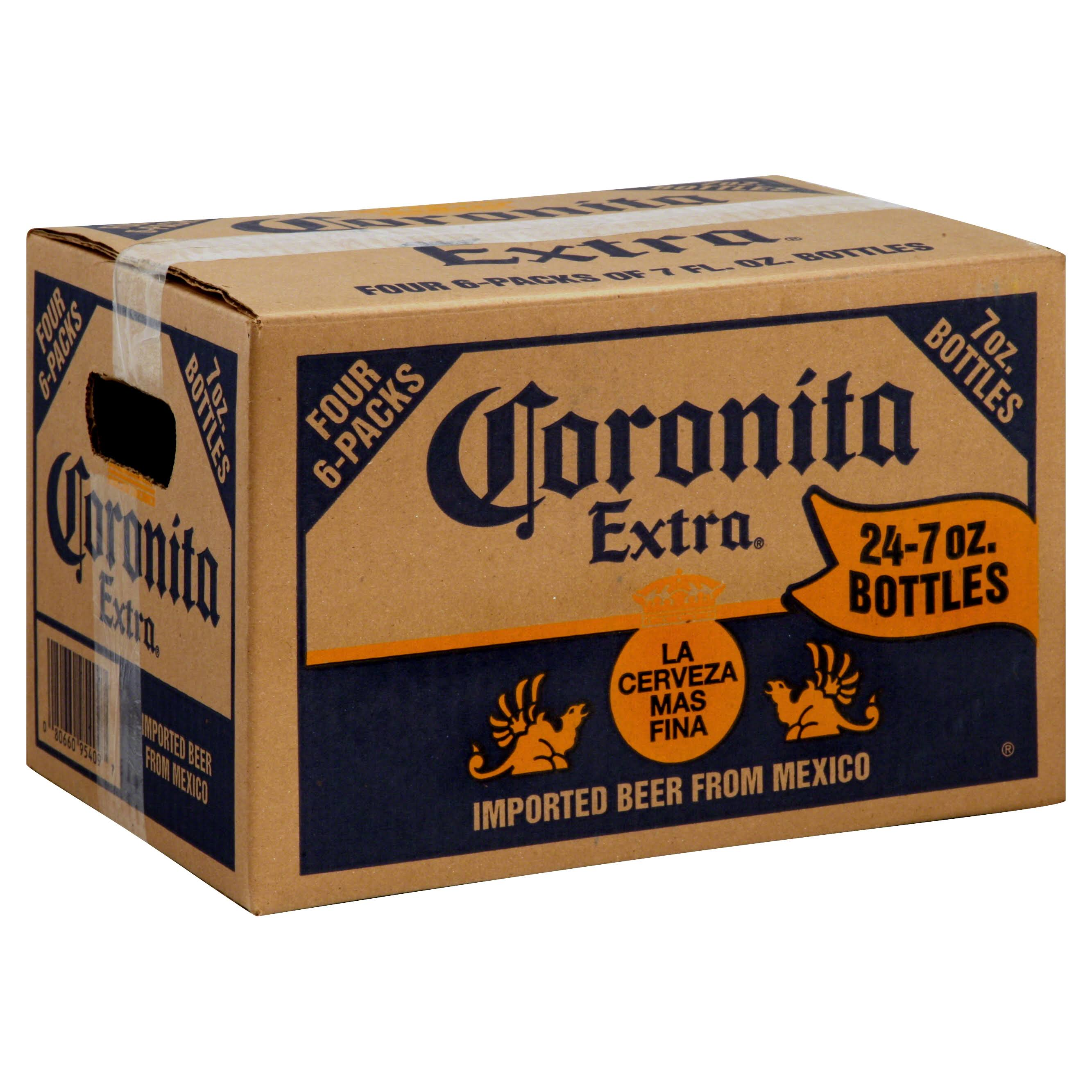 Coronita Extra Beer - 24 pack, 7 oz bottles