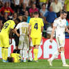 Gareth Bale scores two goals for Real Madrid vs Villarreal, but receives red card in injury time