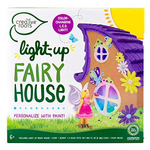 Horizon Group Creative Roots Light Up Fairy House