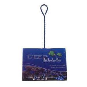 "Deep Blue Professional Fish Net - 10"" x 7"", Coarse"