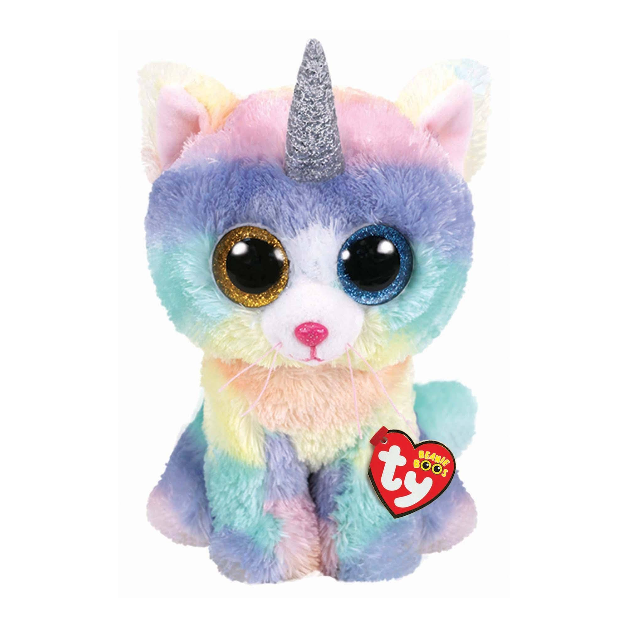 Ty Beanie Boos Heather Unicat Medium Stuffed Animal, 9""