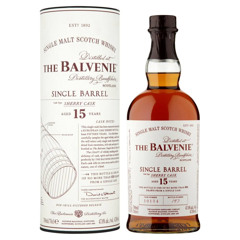 Balvenie 15 Year Old - Single Barrel - Sherry Cask