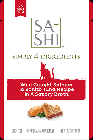 Sa-Shi Wild Caught Salmon & Bonito Tuna Recipe 8-176oz