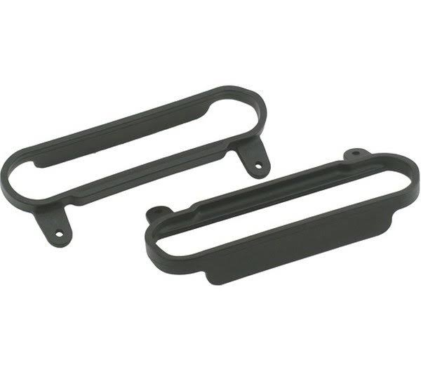 "RPM Traxxas Slash Nerf Bars Slash - Black, 4"" x 4"""