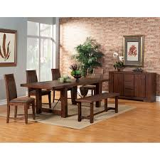 Value City Kitchen Table Sets by Steve Silver Lakewood 6 Piece Dining Table Set Hayneedle