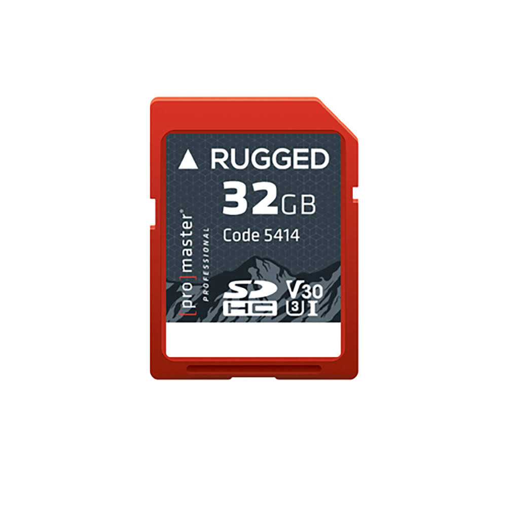 ProMaster 32GB SDHC UHS-I Rugged Memory Card PRO5414