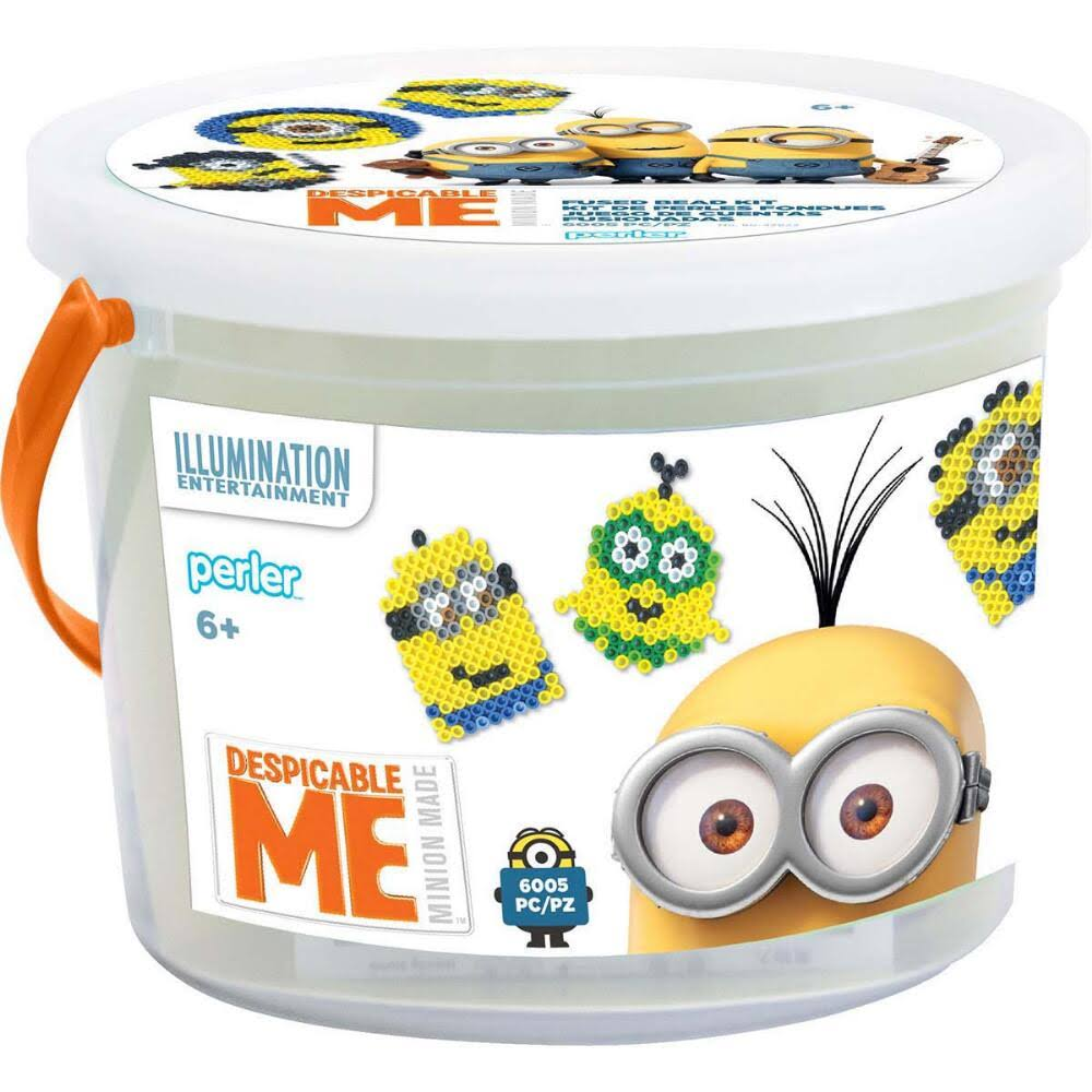 Perler Despicable Me 3 Fused Bead Bucket - 6005pc